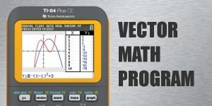 Vector Math Program for TI-84 Plus