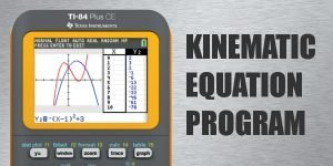 kinematic formula program