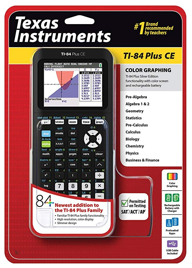 TI-84 Plus CE vs  TI-Nspire CX Comparison Review | Calc King